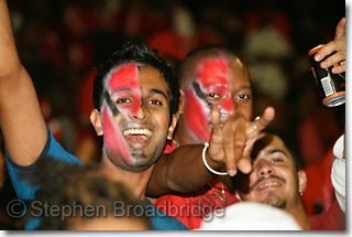 Faces-painted-withTrinidad-Flag