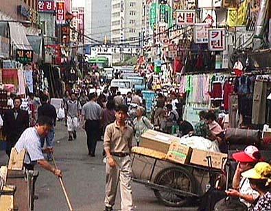 Wholesale Fashion Markets Seoul