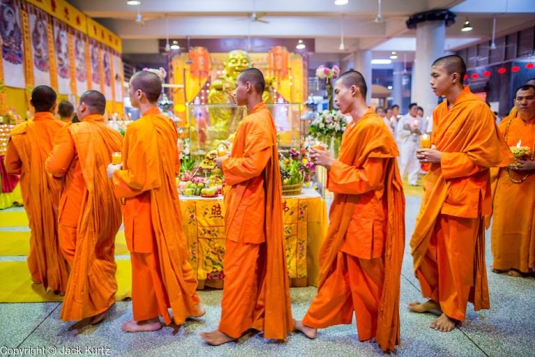 The Vegetarian Festival Ends in Hat Yai
