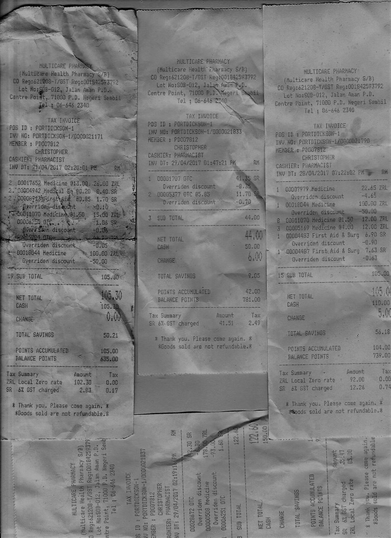 pharmacy bills phl